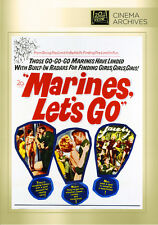 Marines, Lets Go 1961 (DVD) Tom Tryon, David Hedison, Tom Reese - New!