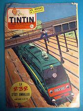 TINTIN Nos 478  DU 19 DÉCEMBRE 1957