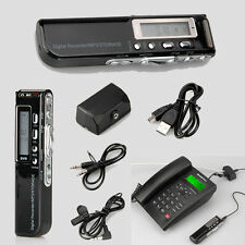 8GB Digital Audio Voice Recorder Rechargeable Dictaphone USB Drive MP3 Player S2