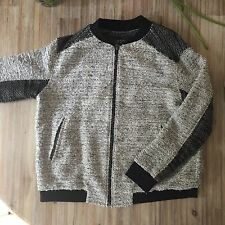 Urban Outfitters Sparkle and Fade Bomber Jacket Size L