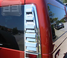 Hummer H2 Chrome UPPER REAR VENT COVER Tail Light intake bezel 2003 - 2009