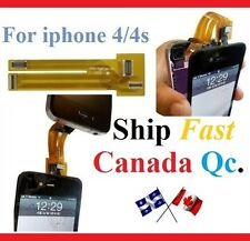 Extension test cable For iphone 4 4G 4S testing LCD touch screen digitizer flex
