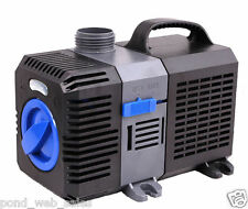 2200 GPH Submersible Pond Pump Adjustable Inline Fountain Waterfall Koi Filter