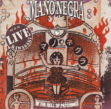 CD 23T MANO NEGRA IN THE HELL OF PATCHINKO LIVE 02/11/91 KAWASAKI DE 1991