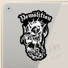 PEGATINA DEMOLITION BMX MOTORHEAD VINILO VINYL STICKER DECAL AUFKLEBER