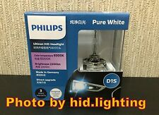 US Genuine Philips 6000K Ultinon Pure White D1S XenStart HID XENON Bulb lamp 35W