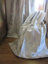 LAURA ASHLEY COCO DOVE GREY THERMAL BLACKOUT CURTAINS.  2 PAIRS AVAILABLE