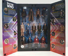 "Doctor Who 13 Docs  5.5"" Figure Set in TARDIS Display NEW SDCC NO SHIPPING WEAR!"
