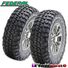 2 Federal Couragia M/T 35X12.50R18 Mud Tires LT 35X12.50X18 10 Ply 123Q NEW