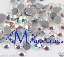 1440pcs Blue Light Crystal AB 2.8mm ss10 Glass Flat Back DMC Hotfix Rhinestones