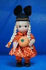 Mouseketeer Boo Blonde Halloween 2013 Disney Precious Moments Doll Signed 4956