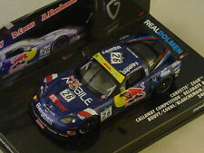 MINICHAMPS - Chevrolet Corvette Z06 GT3 Callaway 24H Spa 2011 N°26 RED BULL 1/43