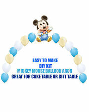 Baby Mickey Mouse BIRTHDAY BALLOON ARCH DIY KITS Party Decorations Baby Shower