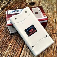 MONSTER White 18 Million Volt Stun Gun Rechargeable w/LED light & HOLSTER