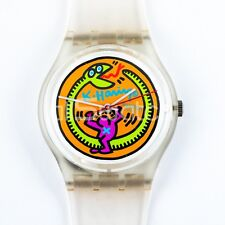 Swatch Special - GZ102 - Serpent by Keith Haring - Nuovo