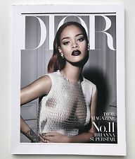 DIOR MAGAZINE No.11 RIHANNA AUTOMN 2015 VIP FASHION MODELS CATALOG BOOK RARE