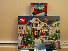 LEGO Seasonal Winter Village Toy Shop (10199) Christmas Train 40138 MISB