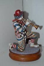 Vanmark Clowning In America Clowns Music Box Trumpet  Musicians The Trumpeter