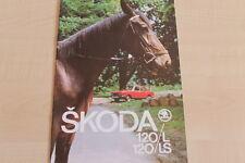 159846) Skoda 120 L LS Prospekt 198?