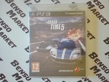 CRASH TIME 5 UNDERCOVER SONY PS3 PLAYSTATION 3 PAL ITA ITALIANO NUOVO SIGILLATO