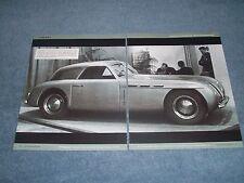 1947 Maserati Coupe Sport A6 Magazine Print Picture from Geneva Auto Show