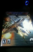 NEW UNOPENED PACKAGE TOPGUN PC CD-ROM GAME SOFTWARE. F-22 RAPTOR, B-2 BOMBER