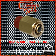 "D.O.T. Brass Pneumatic Air Quick Coupling 1/4"" Tube X 1/8"" Male NPT 1PCS"
