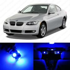 14 x Blue LED Interior Light Package For 2006 -2011 BMW 3 Series M3 E90 E91 E92
