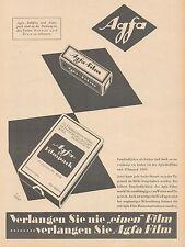 J1491 AGFA Filmpack - Pubblicità grande formato - 1929 Old advertising