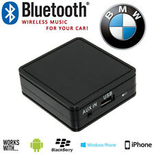 BMW 3 5 7 Serie E46 WIRELESS BLUETOOTH STREAMING Vivavoce Interfaccia + AUX IN