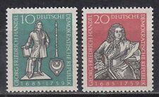 DDR East Germany 1959 ** Mi.682/83 Händel Komponist Composer Musik Music
