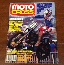 SEPTEMBER 1982 VINTAGE MOTOCROSS ACTION 250 NATS RECAP CR250 80cc SHOOTOUT VMX