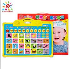 Baby Early Education Chinese English Sounding voice Learning wall chart 11pcs