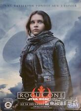 STAR WARS ROGUE ONE EXTREMELY RARE ORIGINAL CHARACTER MOVIE POSTER BUS SHELTER