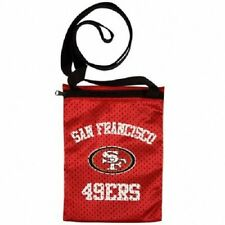 New Gameday Jersey Pouch Small Purse Bag NFL Licensed SAN FRANCISCO 49ers Red