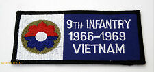 9TH INFANTRY DIVISION US ARMY VIETNAM NAM HAT PATCH FORT LEWIS CARSON DIX WOW