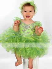 Cupcake Infant/Toddler Birthday Party Gifts Ball Gowns Girls Pageant Dance Dress