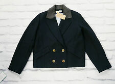 Nautical Nice: Vanessa Bruno Athe Navy Boxy Pea Jacket NWT £360 FR34/UK6-8