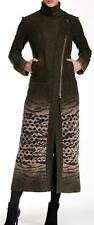 New with Tag - $695.00 L.A.M.B. Lazer Cut Boil Wool Blend Maxi Coat Size 2