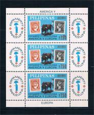 Filipinas. Conjunto de 67 sellos y 1 Hoja Bloque