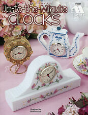 Up-to-the-Minute Clocks, Annie's plastic canvas patterns OOP rare