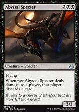 MTG 2x ABYSSAL SPECTER - SPETTRO DELL'ABISSO - MMA3 - MAGIC