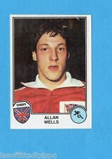 SPORT SUPERSTARS/EURO FOOTBALL 82-PANINI-Figurina n.1- WELLS - GBR -Rec
