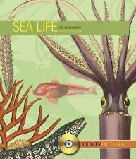 Dover Pictura Electronic Clip Art: Sea Life by Dover Publications Inc. Staff...