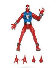 "Marvel Legends Infinite Series Scarlet Spiderman 6"" Loose Action Figure UK"