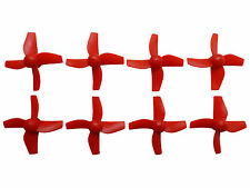 "Apex RC Products Inductrix / ""Tiny Whoop"" Red CW CCW Props - 2 Sets #9060R"