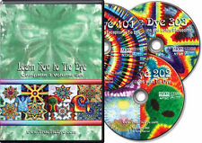 """LEARN HOW TO TIE DYE"" complete 3 volume DVD set (tie-dye dvd)"