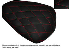 DIAMOND RED STITCH CUSTOM FITS YAMAHA YZF R1 09-14 1000 REAR LEATHER SEAT COVER