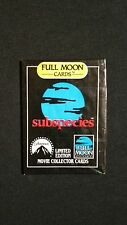 1991 Full Moon Subspecies Wax Pack Very Rare