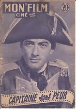 MON FILM N°289 CAPITAINE SANS PEUR Gregory PECK Virginia MAYO Robert LAMOUREUX